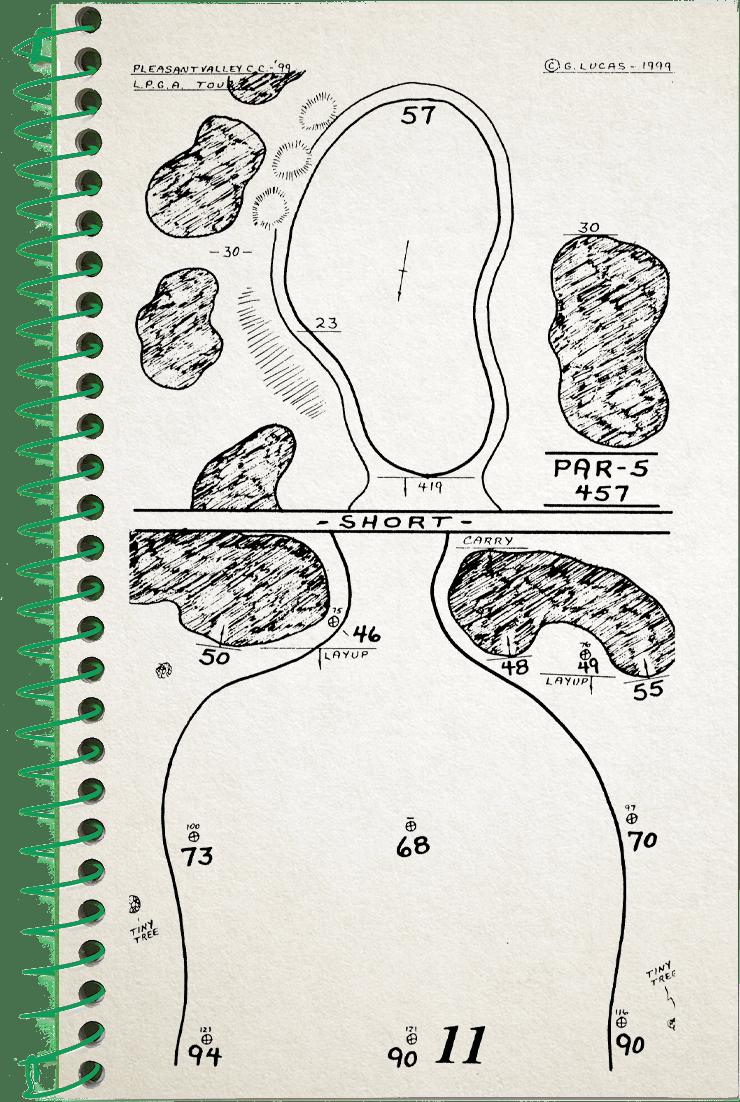 11th hole (2) sketch