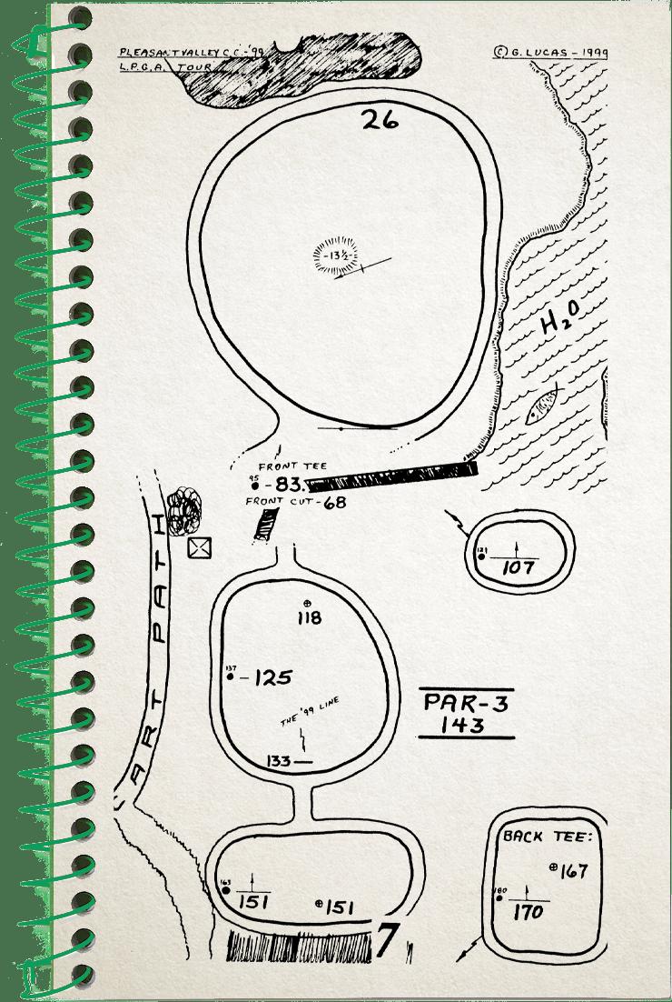 7th hole sketch