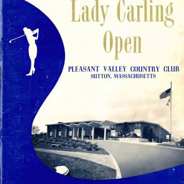 Lady Carling Open booklet